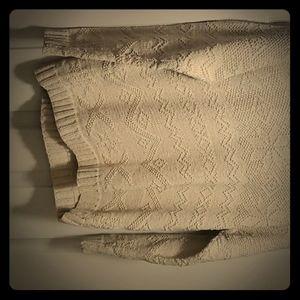 Exclusive hand knit, Ralph Lauren heavy sweater